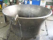 鋳物から板金化の製品実績