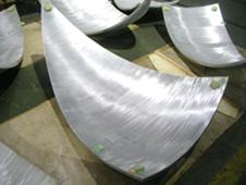Bent aluminum parts